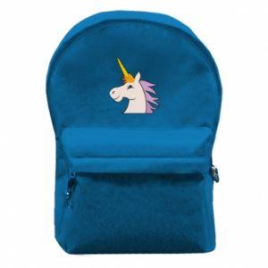 Plecak z przednią kieszenią Unicorn pleased with itself