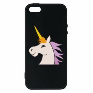 Etui na iPhone 5/5S/SE Unicorn pleased with itself