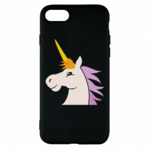 Phone case for iPhone 8 Unicorn pleased with itself