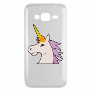 Etui na Samsung J3 2016 Unicorn pleased with itself