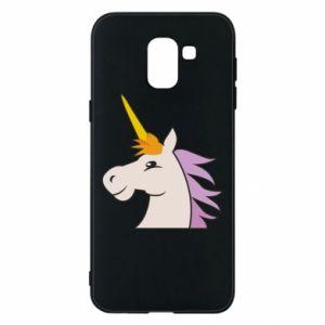 Etui na Samsung J6 Unicorn pleased with itself