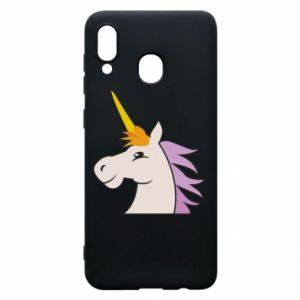 Etui na Samsung A20 Unicorn pleased with itself