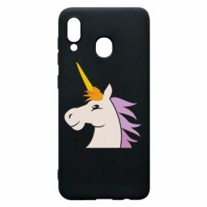 Etui na Samsung A30 Unicorn pleased with itself