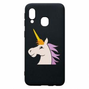 Etui na Samsung A40 Unicorn pleased with itself