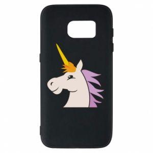 Etui na Samsung S7 Unicorn pleased with itself