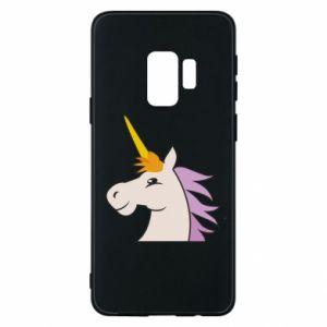 Etui na Samsung S9 Unicorn pleased with itself