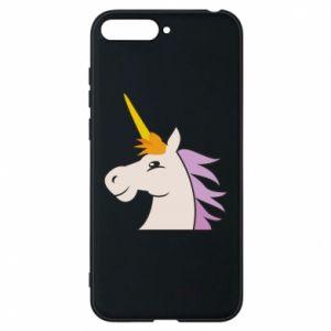 Etui na Huawei Y6 2018 Unicorn pleased with itself