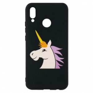 Phone case for Huawei P20 Lite Unicorn pleased with itself