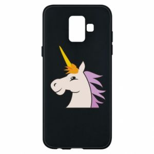 Etui na Samsung A6 2018 Unicorn pleased with itself