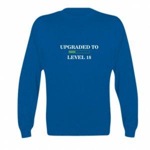 Bluza dziecięca Upgraded to level 18