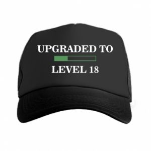 Trucker hat Upgraded to level 18