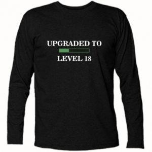 Long Sleeve T-shirt Upgraded to level 18