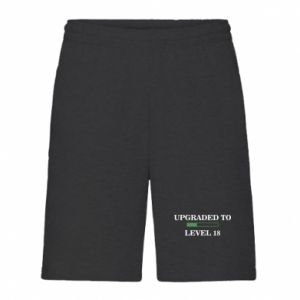 Men's shorts Upgraded to level 18