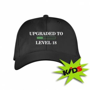 Kids' cap Upgraded to level 18
