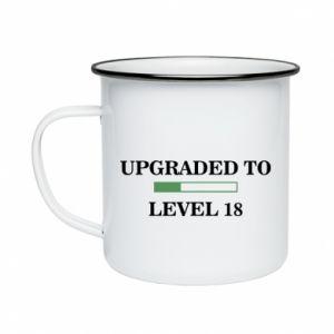 Enameled mug Upgraded to level 18