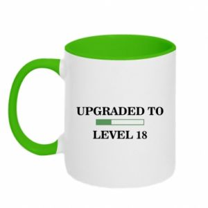 Two-toned mug Upgraded to level 18