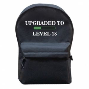 Backpack with front pocket Upgraded to level 18