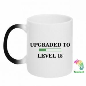 Chameleon mugs Upgraded to level 18