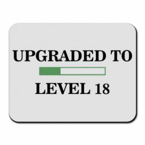 Podkładka pod mysz Upgraded to level 18