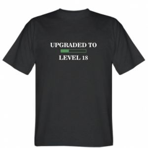 T-shirt Upgraded to level 18