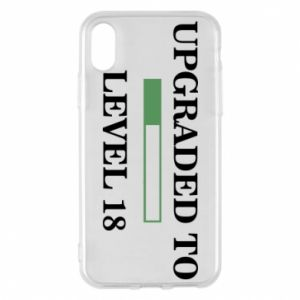 Phone case for iPhone X/Xs Upgraded to level 18