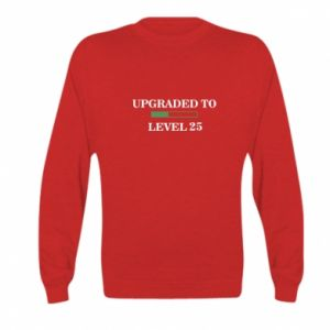 Kid's sweatshirt Upgraded to level 25