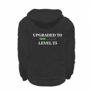 Kid's zipped hoodie % print% Upgraded to level 25