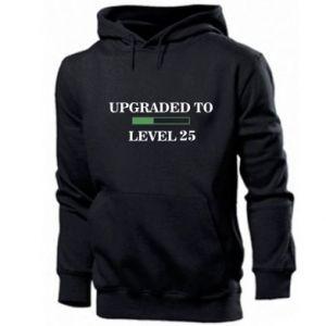 Męska bluza z kapturem Upgraded to level 25