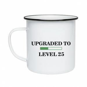 Kubek emaliowane Upgraded to level 25