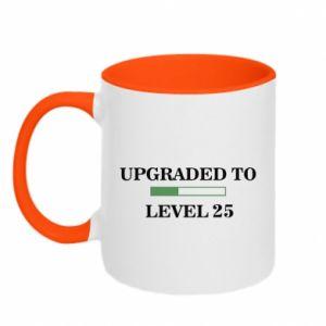 Kubek dwukolorowy Upgraded to level 25