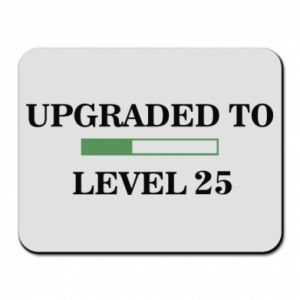 Podkładka pod mysz Upgraded to level 25