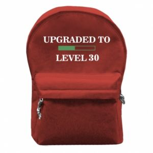 Backpack with front pocket Upgraded to level 30