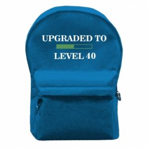 Backpack with front pocket Upgraded to level 40