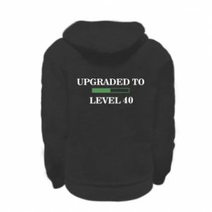 Kid's zipped hoodie % print% Upgraded to level 40