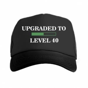 Trucker hat Upgraded to level 40