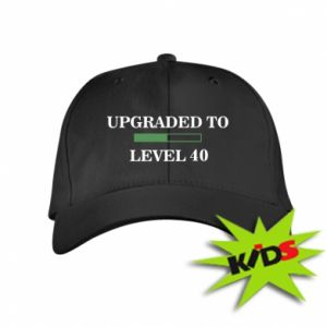 Kids' cap Upgraded to level 40