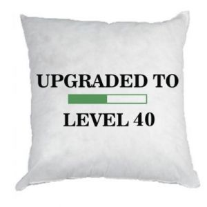 Pillow Upgraded to level 40