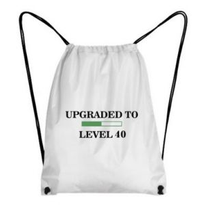 Backpack-bag Upgraded to level 40