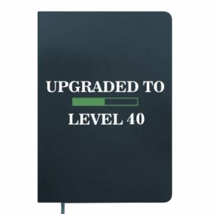 Notepad Upgraded to level 40