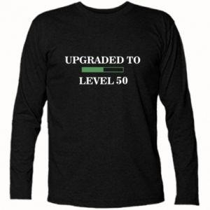 Koszulka z długim rękawem Upgraded to level 50