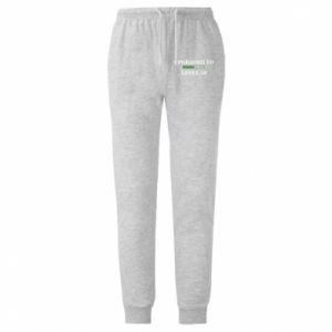 Męskie spodnie lekkie Upgraded to level 50