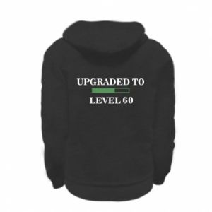 Kid's zipped hoodie % print% Upgraded to level 60