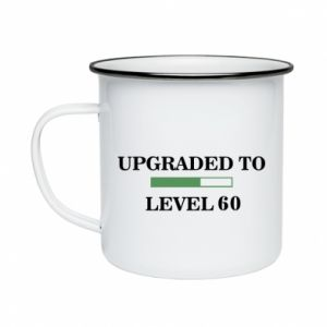 Kubek emaliowane Upgraded to level 60