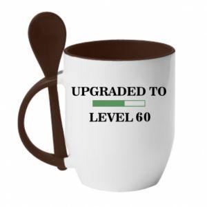 Mug with ceramic spoon Upgraded to level 60