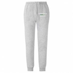Męskie spodnie lekkie Upgraded to level 60