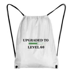 Plecak-worek Upgraded to level 60