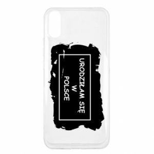 Xiaomi Redmi 9a Case I was born in Poland