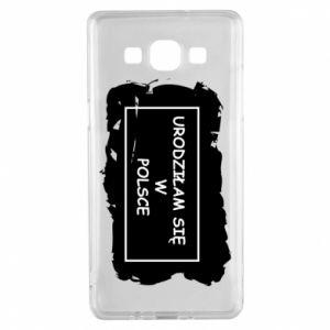 Samsung A5 2015 Case I was born in Poland