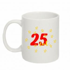 Kubek 330ml Urodziny. 25 lat
