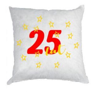 Poduszka Urodziny. 25 lat